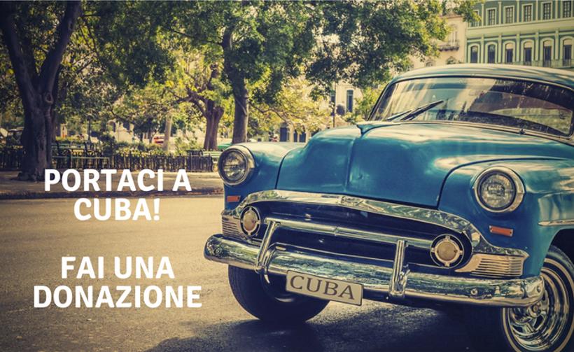 Take us to Cuba, make a donation