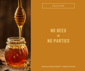 no bees = no parties