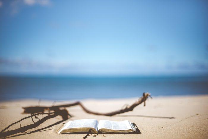 libro spiaggia e mare